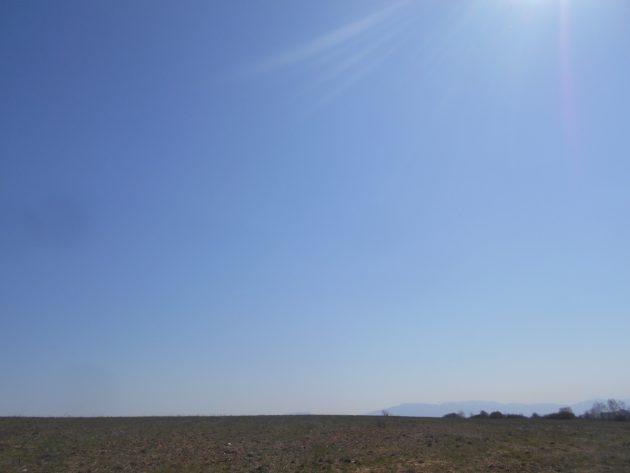 Pohľad na východnú oblohu