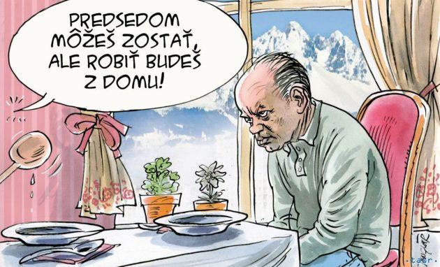 Karikatúra: Danglár 19.03.2020