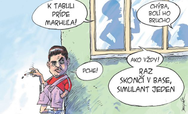 Karikatúra: Danglár 08.08.2020