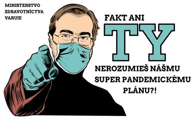 Karikatúra denníka Pravda Gašparec 13.08.2020