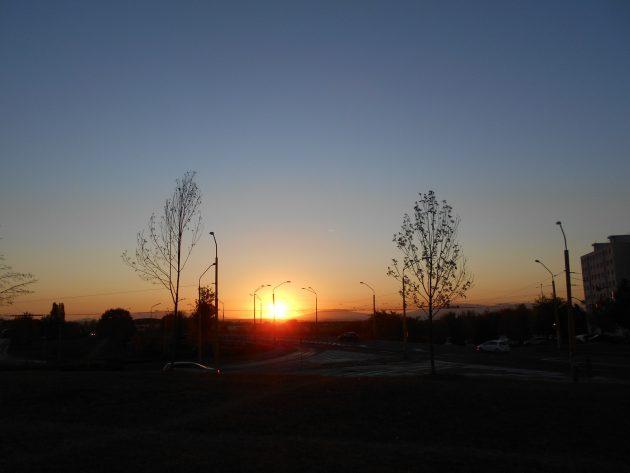 Dúfam, že tak ako my teraz môžeme pozorovať východ slnka, že takto ho budú pozorovať aj naši vnuci a aj ich ďalšie generácie.